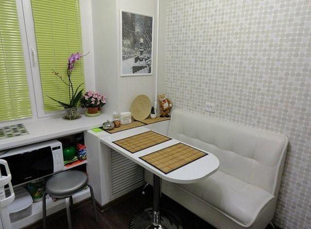 дизайн маленькой кухни 5 кв.м фото
