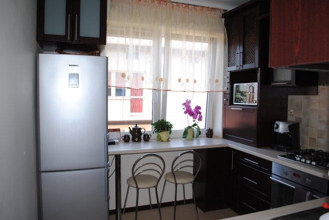 Дизайн кухонное окно