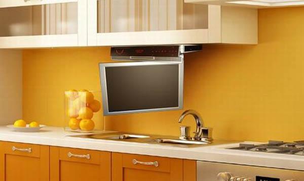 Как сделать телевизор на кухне