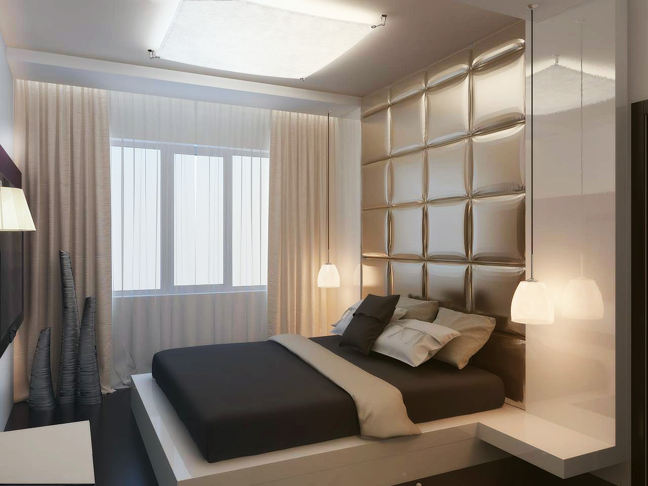 Дизайн спальни на 7 кв.м