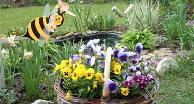 идеи для дачи и сада своими руками из подручных материалов
