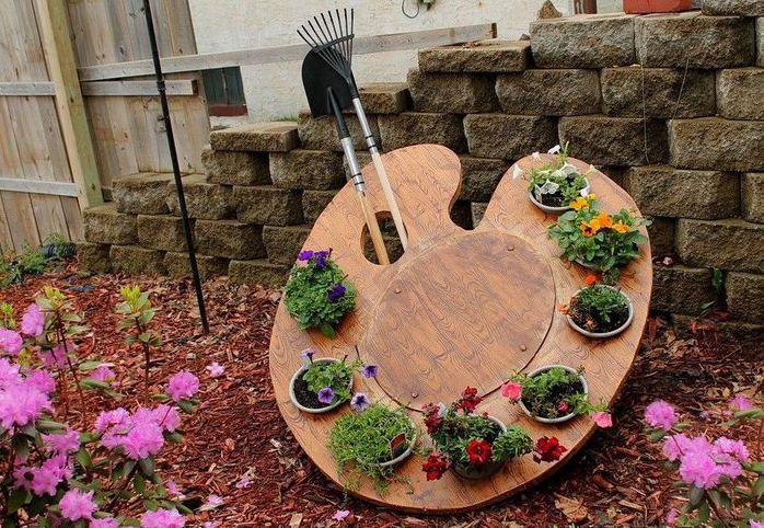 Поделки своими руками для сада и дачи фото