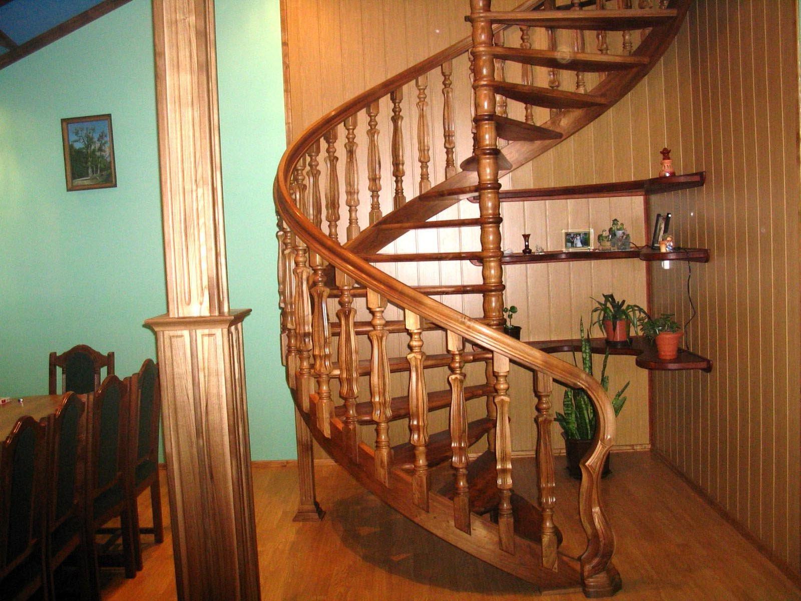 Лестницы для дома деревянные своими руками