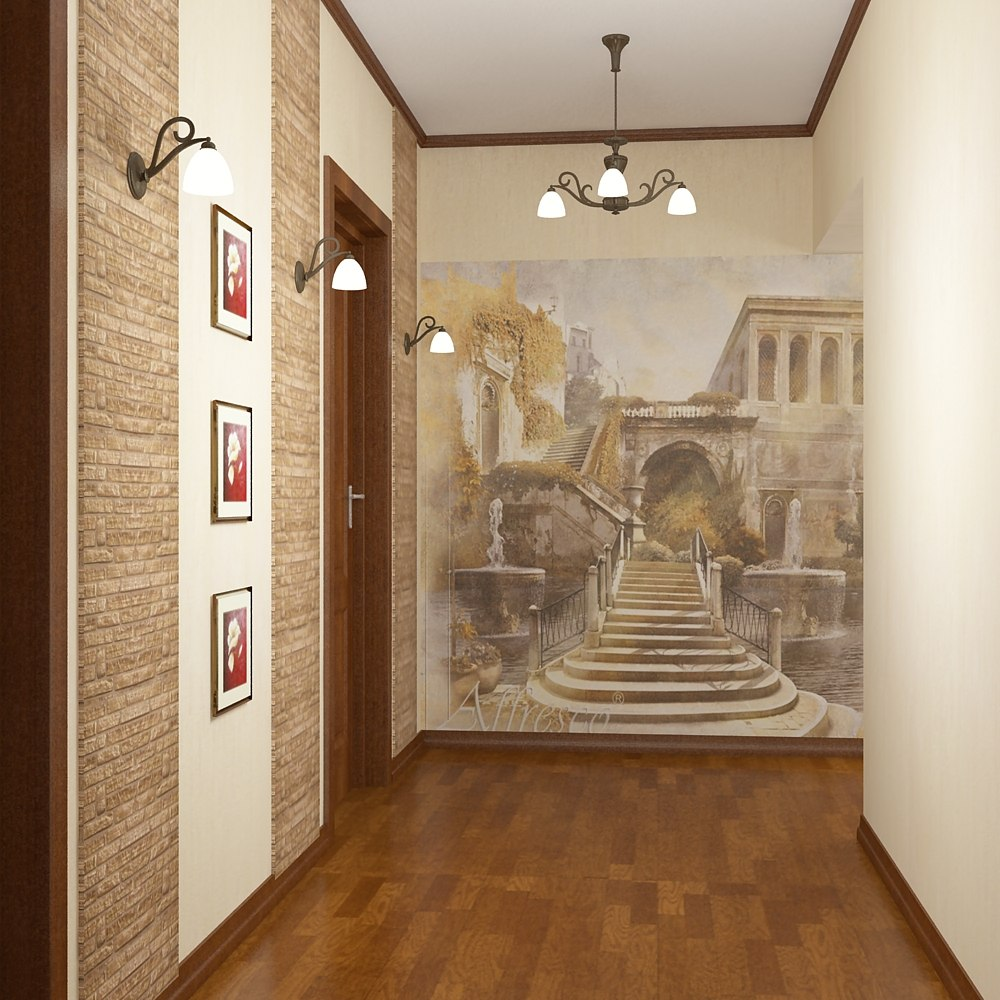 Обои для гостиной - Интерьер, дизайн и отделка квартиры, идеи