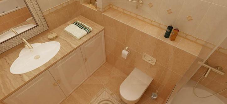 совмещённый санузел с ванной дизайн фото 4 кв м