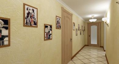 дизайн узкого коридора в квартире фото реальные