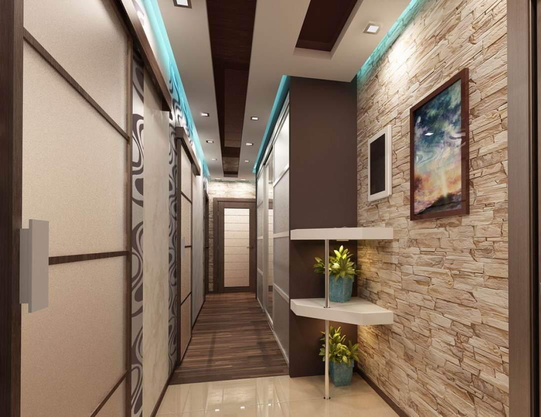 Ремонт длинного узкого коридора