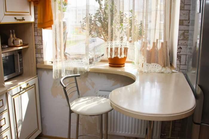 Дизайн маленьких кухонь для малогабаритных квартир: фото, ид.