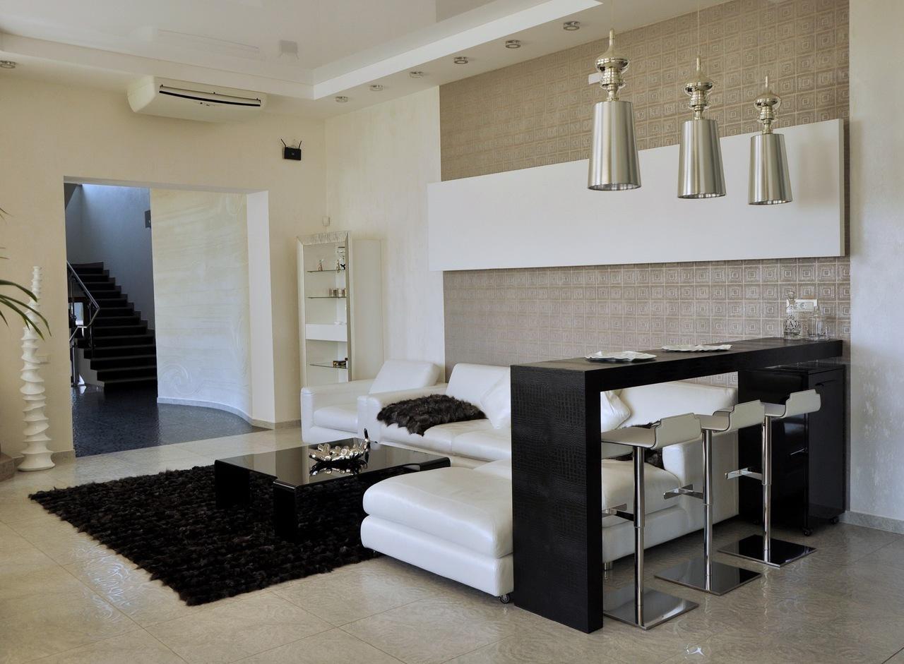 Барные стойки в дизайне квартиры