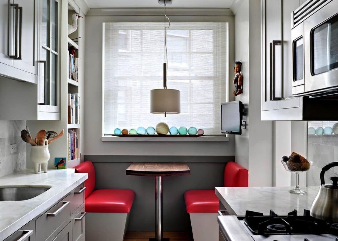 Идеи и интерьера маленькой кухни
