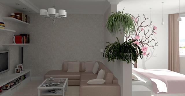 Перепланировка трехкомнатной квартиры II-57, план, фото