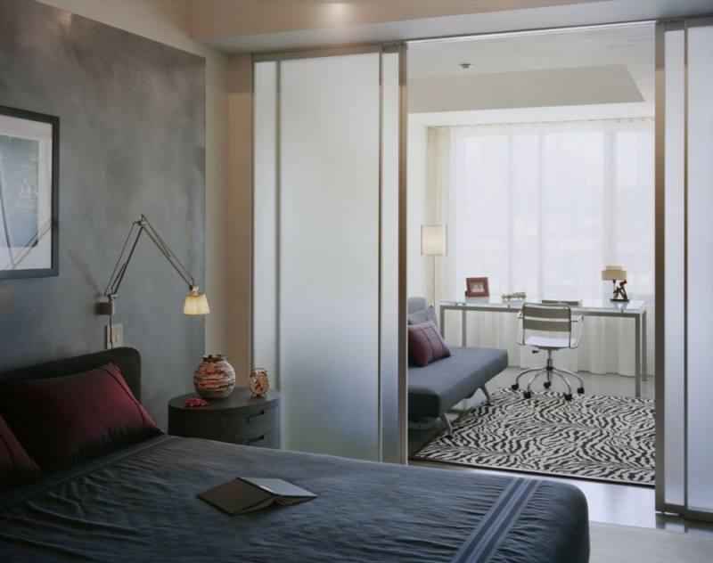 Перегородки для зонирования пространства в комнате своими руками
