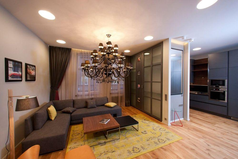 6 идей дизайна квартиры-студии 30 кв. м. с фото. Красивые