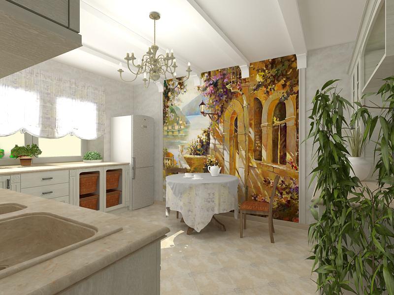 Применение фресок в интерьере фото