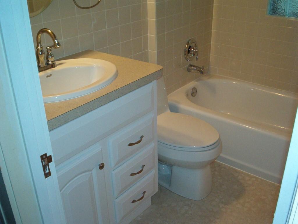 Интерьер ванной комнаты маленького размера с туалетом фото