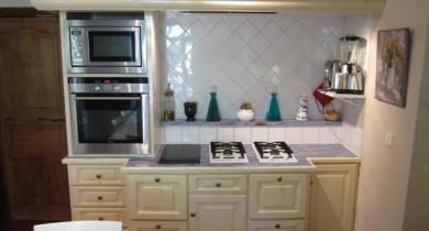 кухня в стиле прованс в малогабаритной кухне фото