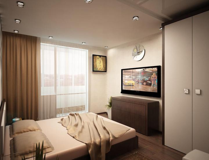 Ремонт спальной комнаты дизайн фото 13 квадратов