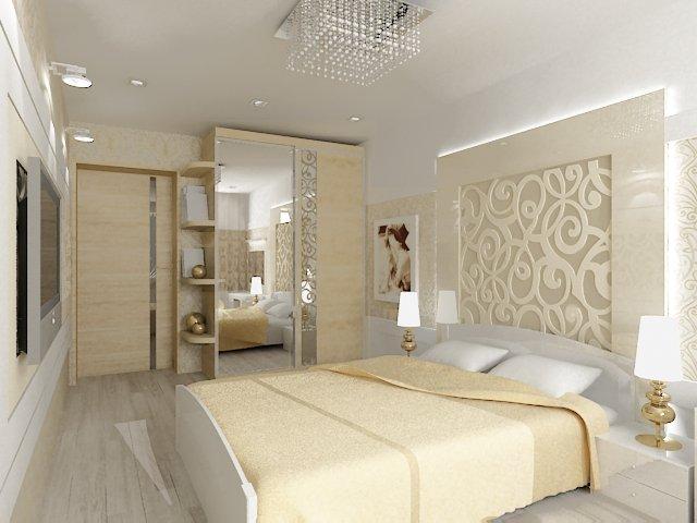 Дизайн комнаты в светлых тонах фото