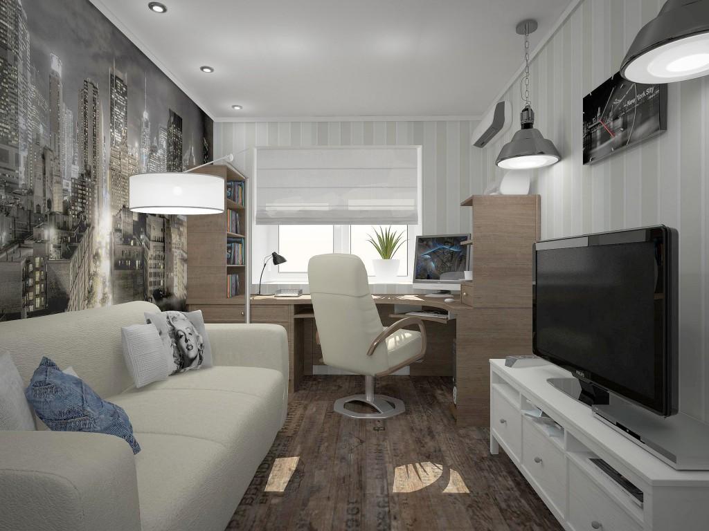 Дизайн комнаты подростка 12 кв.м фото