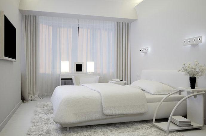 Спальня в зеленых тонах 35