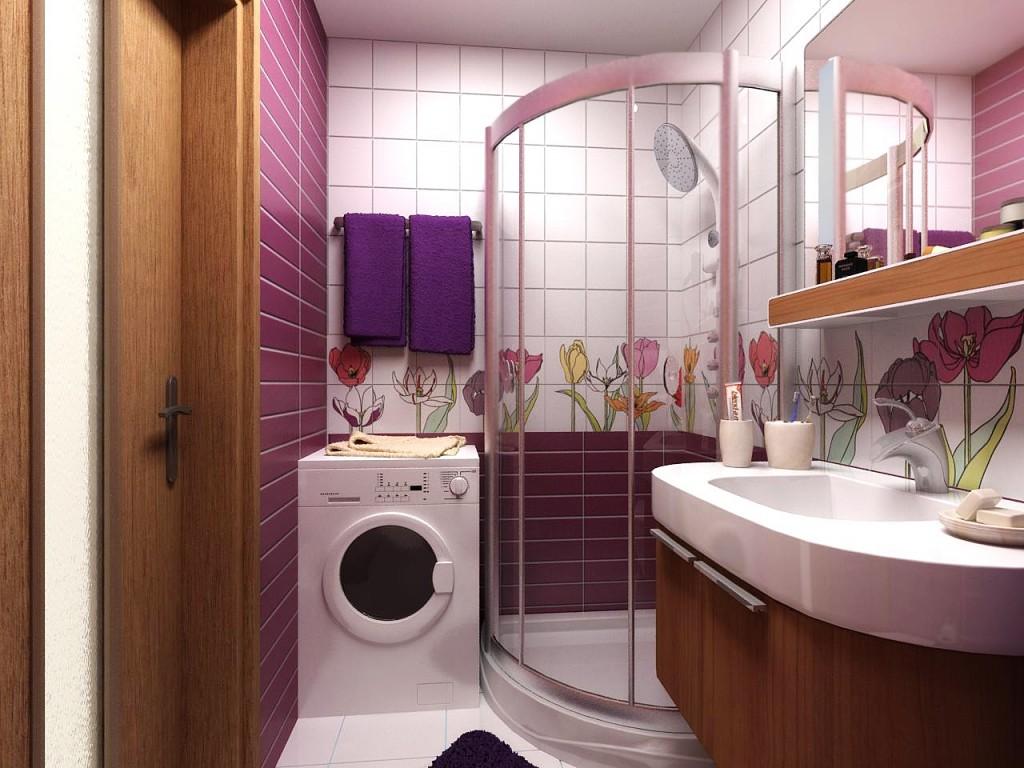 Дизайн душевой комнаты совмещенной с туалетом фото