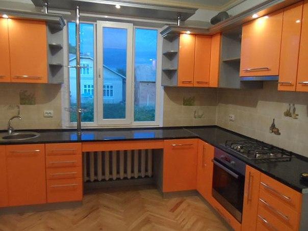 Дизайн кухни 3 на 3 метра с окном