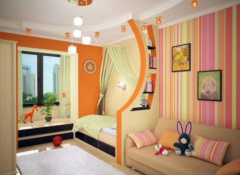 Как обустроить детскую комнату для двоих детей своими руками