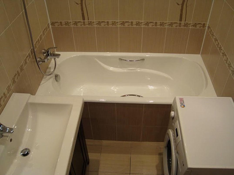 Ремонт ванной в хрущевке своими руками отзывы 34