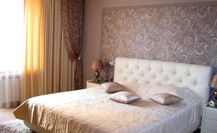 Лен шторы гостиная дизайн фото