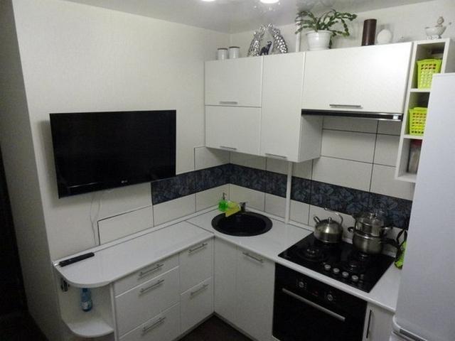 Кухня 5 кв.метров дизайн фото
