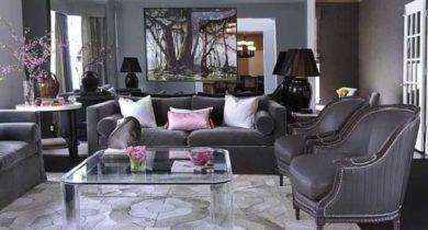серый цвет в интерьере и его сочетание с другими цветами