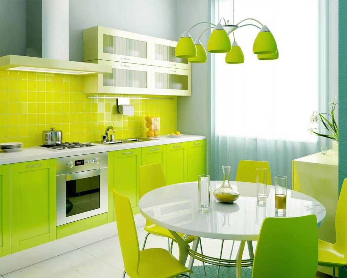 Кухни яркий интерьер фото