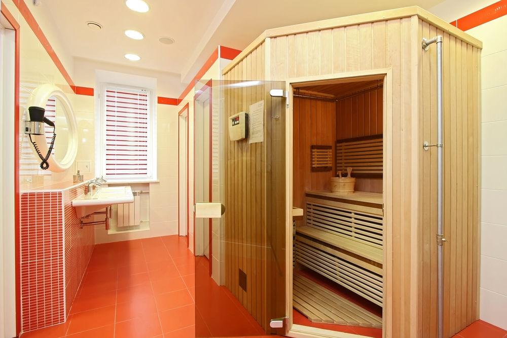 Удобная сауна в квартире: проекты, фото domoked.ru.