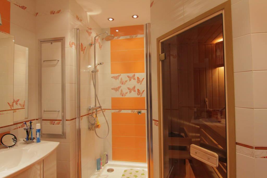 Проект сауна в ванной комнате