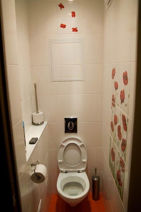 Идеи дизайна туалета маленького размера фото