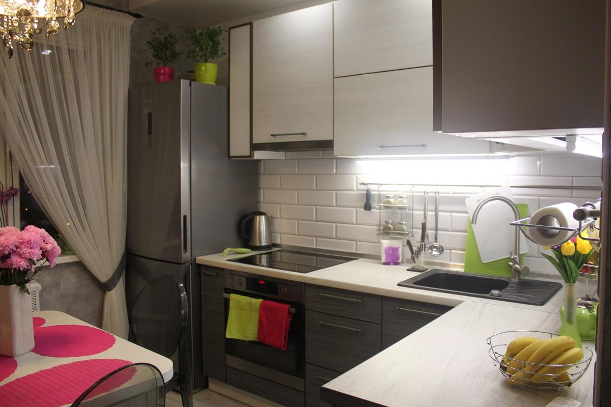 Кухня квадратная 10 кв метров идеи для кухни интерьеры фото