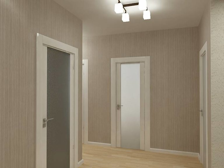 Белые межкомнатные двери в интерьере квартиры фото