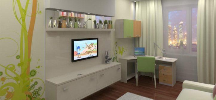 интерьер детской комнаты для мальчика 12 кв.м фото