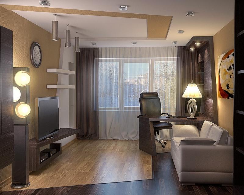 Как расставить мебель в комнате 18 метров: фото, идеи domoke.