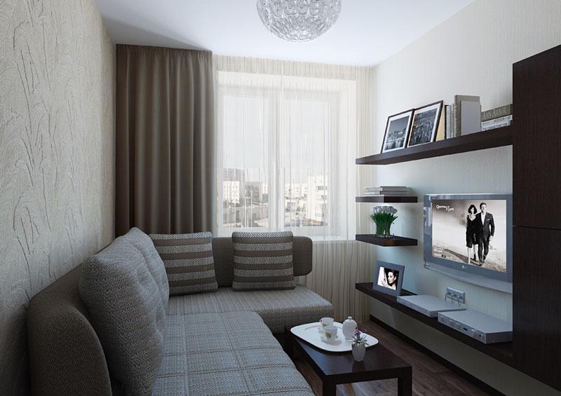 Фото дизайна малогабаритные комнаты