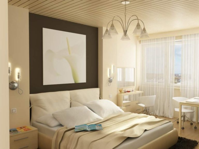 Дизайн интерьера спальни 10 кв м
