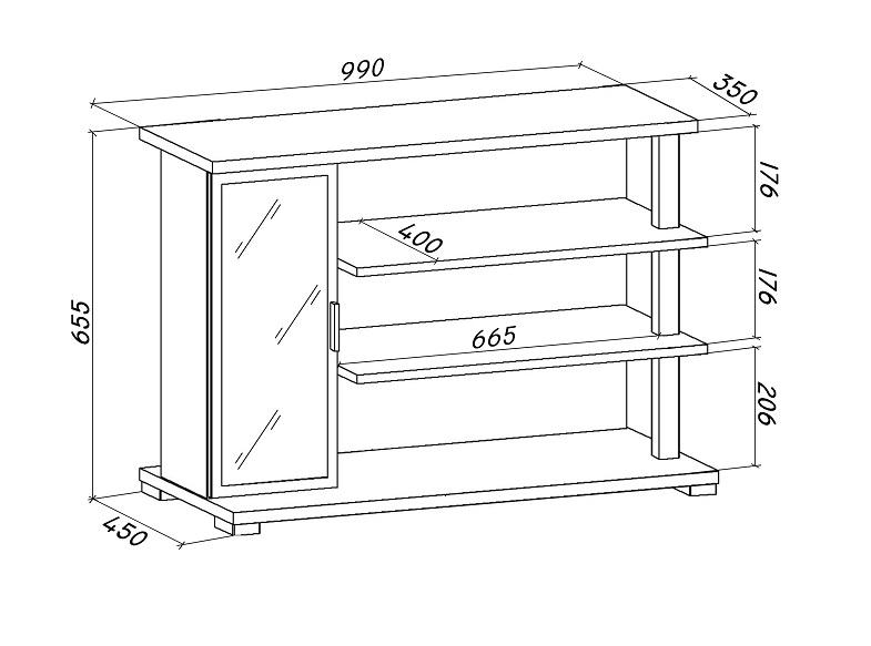 Шкаф для обуви своими руками чертеж