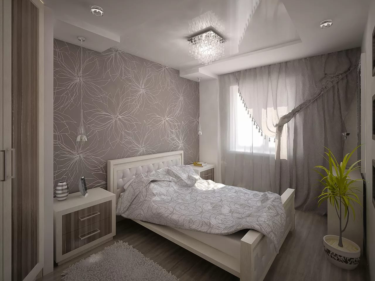 Ремонт спальной комнаты своими руками фото фото 517