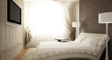 дизайн спальни в хрущевке 2-х комнатной квартиры
