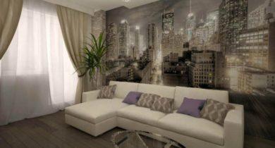 дизайн гостинной комнаты 16 кв.м фото