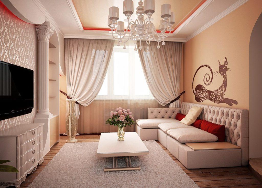 Фото дизайна зала гостинной
