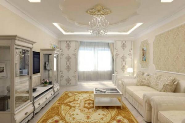 Дизайн зала в стиле