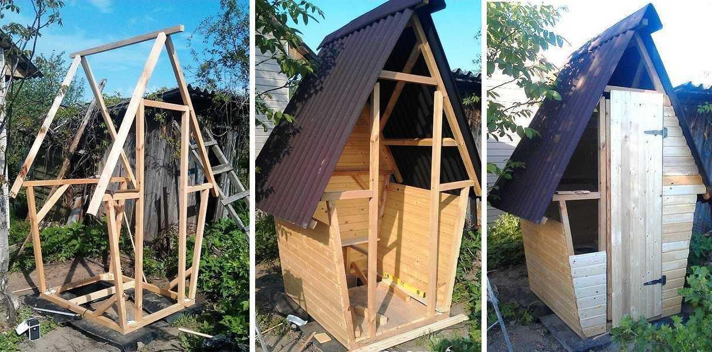 Сам построить туалет на даче