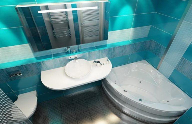Дизайн ванной комнаты совмещенной с туалетом площадью 6 кв м