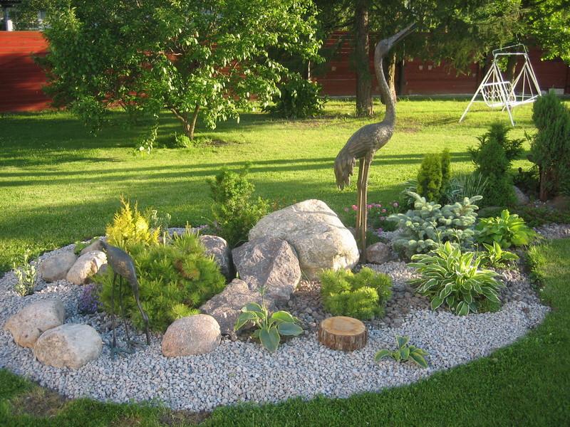 Ландшафтный дизайн моего сада своими руками